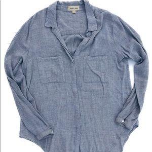 Anthropologie Cloth & Stone Button-down shirt
